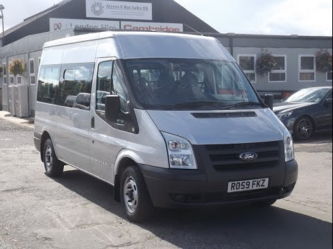 ford transit 9 seats
